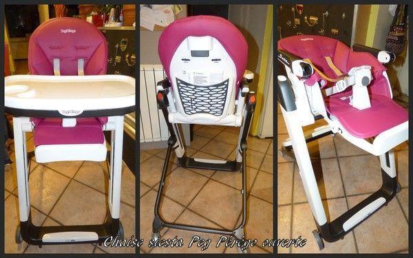 Chaise haute fuschia peg p r go siesta centerblog - Chaise peg perego siesta ...